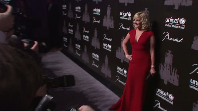 jamie colby at the ninth annual unicef snowflake ball at cipriani, wall street on in new york city. - cipriani manhattan stock videos & royalty-free footage