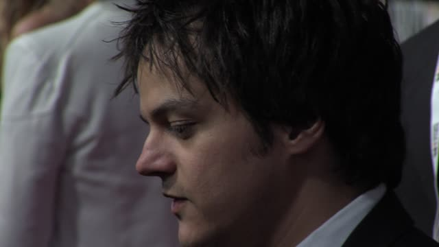 jamie cullum at the brit awards - arrivals at o2 arena on february 20, 2013 in london, england. - jamie cullum stock videos & royalty-free footage