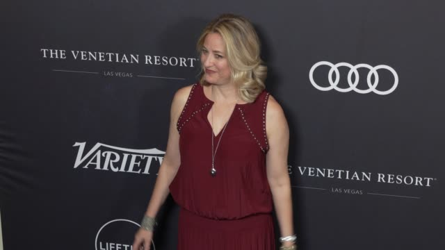jamie denbo at the variety's power of women: los angeles at the beverly wilshire four seasons hotel on october 12, 2018 in beverly hills, california. - フォーシーズンズホテル点の映像素材/bロール