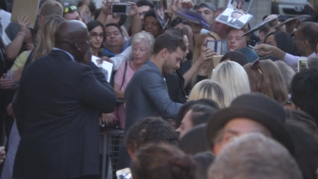 jamie dornan at 'anthropoid' film premiere at bfi southbank on august 30, 2016 in london, england. - bfi southbank stock videos & royalty-free footage