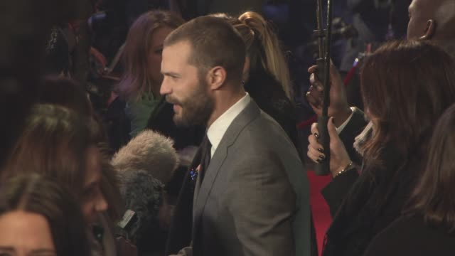 Jamie Dornan at 'Fifty Shades Darker' UK Premiere at Odeon Leicester Square on February 9 2017 in London England