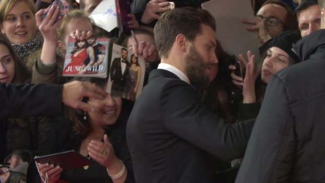 Jamie Dornan at 'Fifty Shades of Grey' Red Carpet 65th Berlin Film Festival on February 11 2015 in Berlin Germany