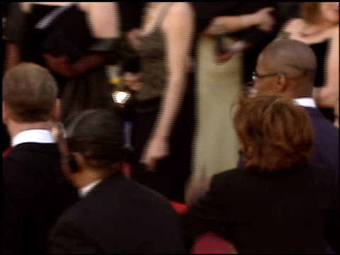 jamie foxx at the 2005 academy awards at the kodak theatre in hollywood, california on february 27, 2005. - 77th annual academy awards stock videos & royalty-free footage