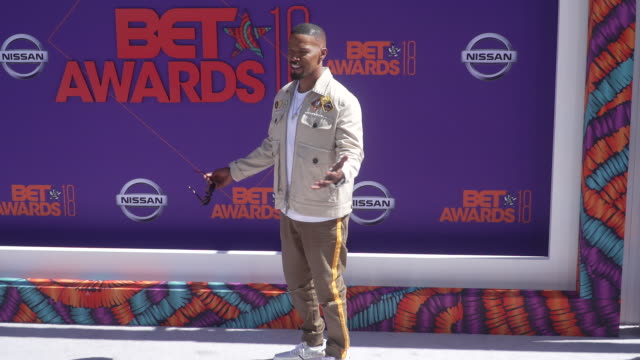 Jamie Foxx at the 2018 BET Awards at Microsoft Theater on June 24 2018 in Los Angeles California