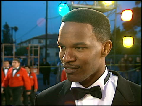 jamie foxx at the american comedy awards at the shrine auditorium in los angeles california on february 9 1997 - 1997 stock videos & royalty-free footage