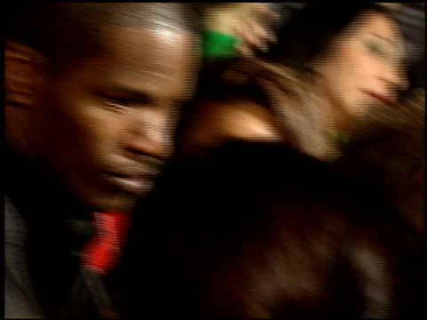 jamie foxx at the 'collateral' premiere at orpheum theatre in los angeles, california on august 2, 2004. - orpheum theatre stock videos & royalty-free footage