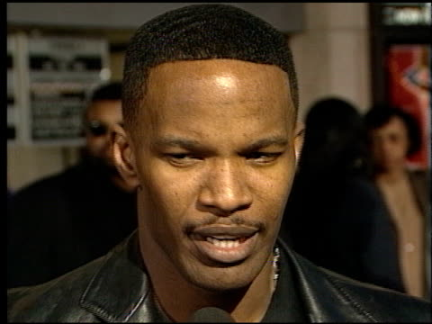 Jamie Foxx at the Premiere of 'The Players Club' on April 6 1998