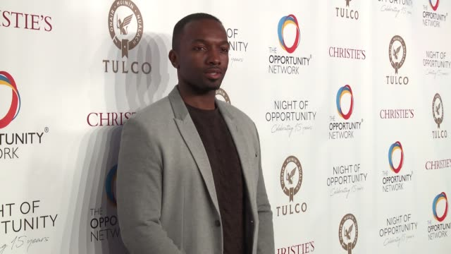 Jamie Hector at Daniel Craig and Rachel Weisz CoChair The Opportunity Network's 11th Annual Night of Opportunity Gala at Cipriani Wall Street on...