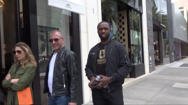 interview jamie hector talks about working on new tupac biopic while shopping in beverly hills in celebrity sightings in los angeles - 伝記映画点の映像素材/bロール