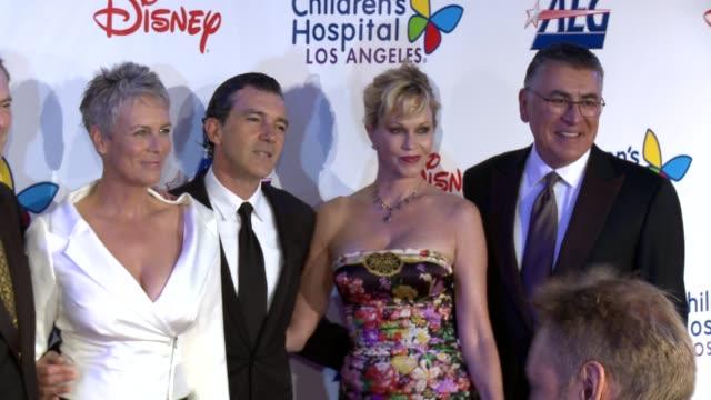 Jamie Lee Curtis Antonio Banderas Melanie Griffith Richard Cordova at Children's Hospital Los Angeles Gala Noche de Ninos on 10/20/12 in Los Angeles...