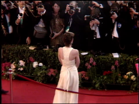 jamie lee curtis at the 1995 academy awards arrivals at the shrine auditorium in los angeles, california on march 27, 1995. - shrine auditorium stock videos & royalty-free footage