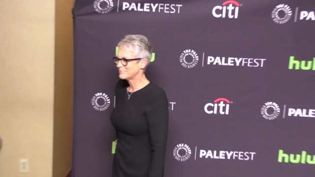 Jamie Lee Curtis at The Paley Center for Media 'Scream Queens' presentation at PaleyFest LA at the Dolby Theatre in Hollywood at Celebrity Sightings...