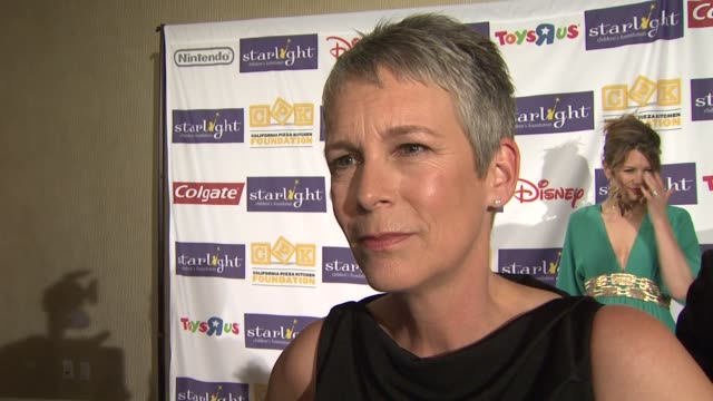 Jamie Lee Curtis on the spirit of this event at the Starlight Children's Foundation's Annual 'A Stellar Night' Gala at Los Angeles CA
