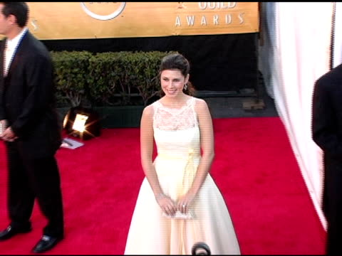 jamie lynn discala at the 2005 screen actors guild sag awards arrivals at the shrine auditorium in los angeles, california on february 5, 2005. - jamie lynn sigler stock videos & royalty-free footage