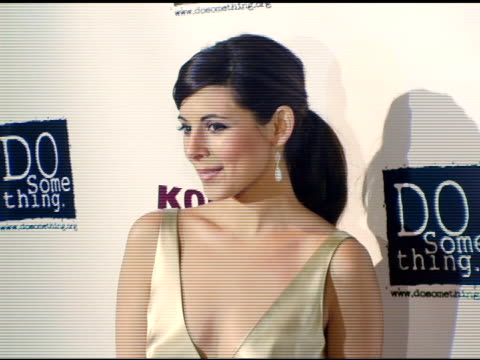 jamie lynn sigler at the 2006 brick awards from do something in celebration of young social entrepreneurs and celebrity and corporate philanthropists... - do something organization stock videos & royalty-free footage