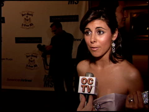 vidéos et rushes de jamie lynn sigler at the race to erase at the westin century plaza hotel in century city, california on april 22, 2005. - gomme