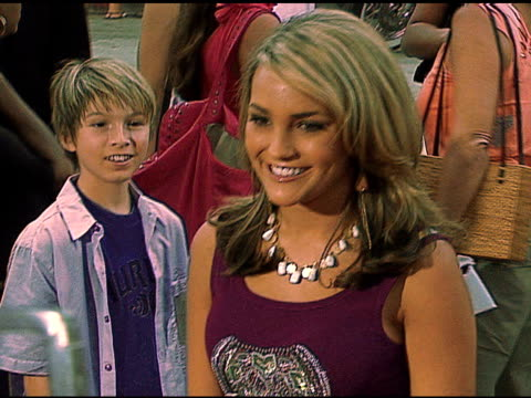 jamie lynn spears at the 'monster house' los angeles premiere on july 18 2006 - 2006 stock videos & royalty-free footage