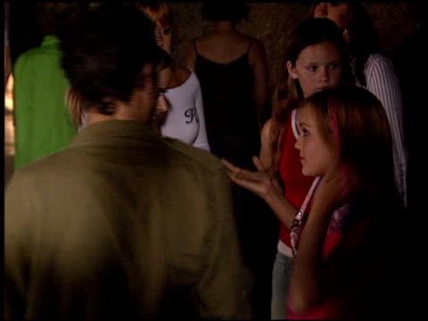 jamie lynn spears at the teen vogue party on september 5 2003 - 2003 bildbanksvideor och videomaterial från bakom kulisserna