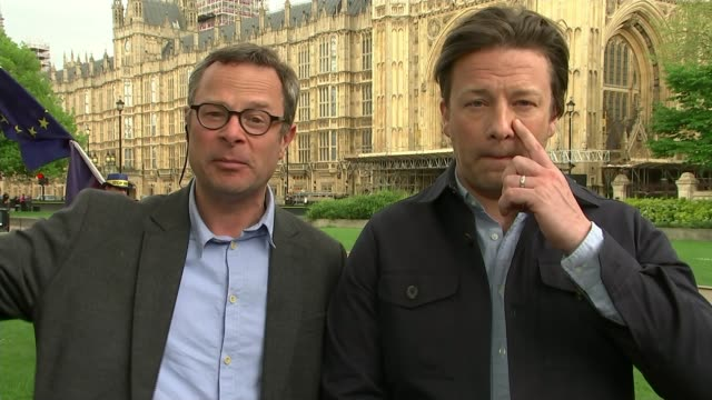 Jamie Oliver and Hugh FearnleyWhittingstall give evidence to MPs on childhood obesity ENGLAND London Westminster EXT Hugh FearnleyWhittingstall and...
