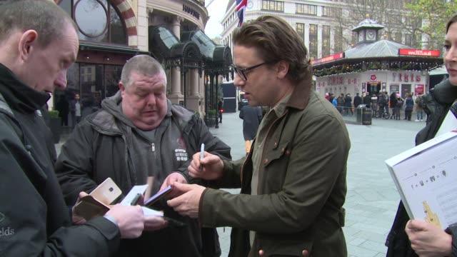 jamie oliver on december 15, 2016 in london, england. - jamie oliver stock videos & royalty-free footage