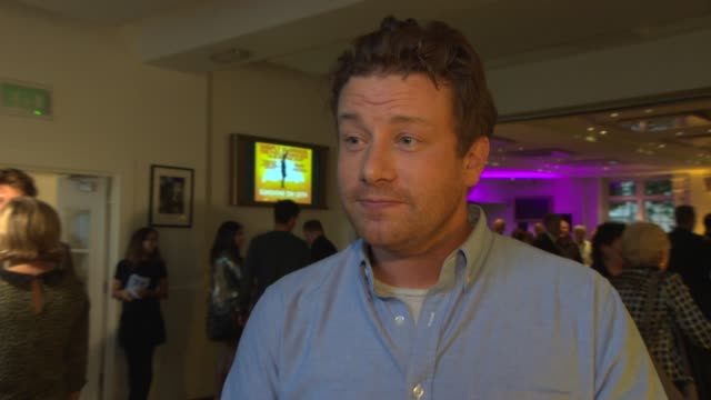 jamie oliver on how he got involved, the proclaimers, the film, his recent comments in the media at 'sunshine on leith' special screening at bafta on... - jamie oliver stock videos & royalty-free footage
