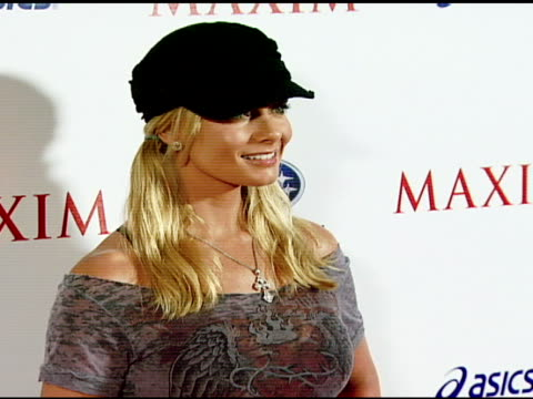Jamie Pressley at the Maxim Magazine's ICU Event at Area in Los Angeles California on August 2 2007