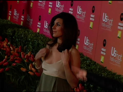 jamie-lynn discala at the us weekly hot hollywood awards at republic restaurant and lounge in los angeles, california on april 26, 2006. - us weekly stock videos & royalty-free footage