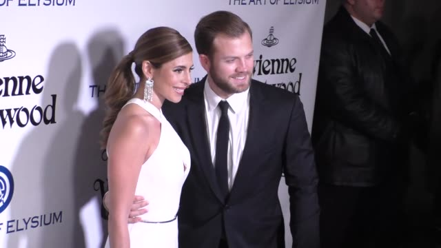 JamieLynn Sigler and Cutter Dykstra at The Art of Elysium's 9th Annual HEAVEN Gala at 3LABS in Culver City at Celebrity Sightings in Los Angeles on...