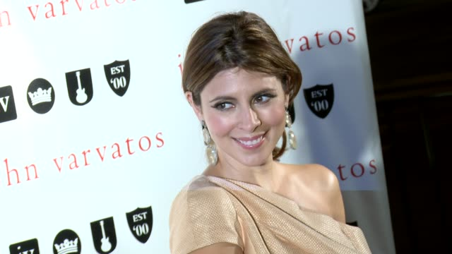 jamie-lynn sigler at john varvatos celebrates 10 years in west hollywood with a private performance by paul weller on 8/17/12 in los angeles, ca - jamie lynn sigler stock videos & royalty-free footage