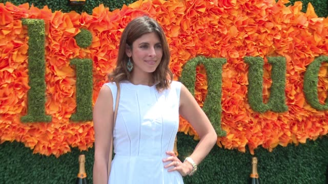 jamie-lynn sigler at ninth-annual veuve clicquot polo classic at liberty state park on june 4, 2016 in jersey city, new jersey. - jamie lynn sigler stock videos & royalty-free footage