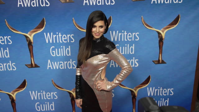 jamie-lynn sigler at the 2019 writers guild awards at the beverly hilton hotel on february 17, 2019 in beverly hills, california. - jamie lynn sigler stock videos & royalty-free footage
