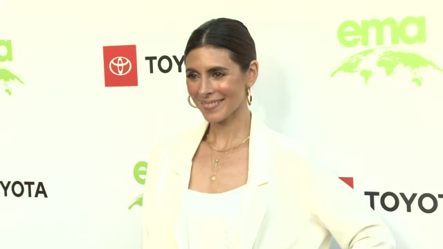 jamie-lynn sigler at the 29th annual environmental media awards at montage beverly hills on may 30, 2019 in beverly hills, california. - environmental media awards stock-videos und b-roll-filmmaterial