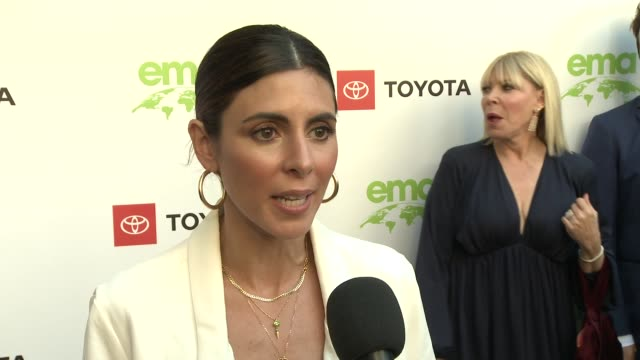 jamie-lynn sigler at the 29th annual environmental media awards at montage beverly hills on may 30, 2019 in beverly hills, california. - jamie lynn sigler stock videos & royalty-free footage