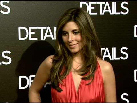 jamie-lynn sigler at the details magazine celebrates 'mavericks 2008' at null in beverly hills, california on march 21, 2008. - jamie lynn sigler stock videos & royalty-free footage