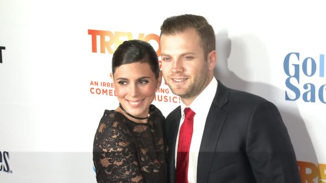 jamie-lynn sigler, cutter dykstra at the trevor project's 2016 trevorlive in los angeles, ca 12/4/16 - jamie lynn sigler stock videos & royalty-free footage