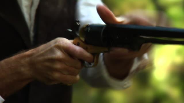 Jammed up gun