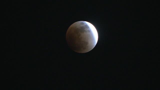 jan 2018 lunar eclipse and diet bldg, tokyo, japan - jp201806 stock videos and b-roll footage