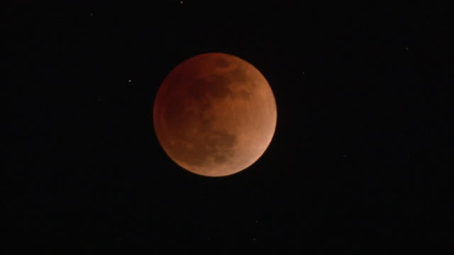 Jan 2018 Total Lunar Eclipse, Hachijo Is, Japan