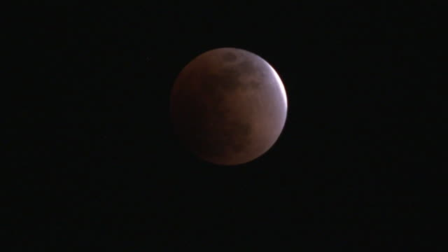 jan 2018 total lunar eclipse, tokyo, japan - jp201806 stock videos and b-roll footage