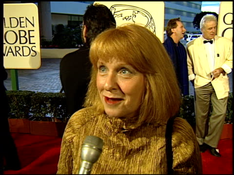 Jan Chapman at the 1994 Golden Globe Awards at the Beverly Hilton in Beverly Hills California on January 22 1994