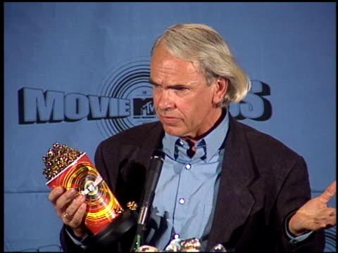 Jan de Bont at the 1997 MTV Movie Awards press room at Barker Hanger in Santa Monica California on June 7 1997