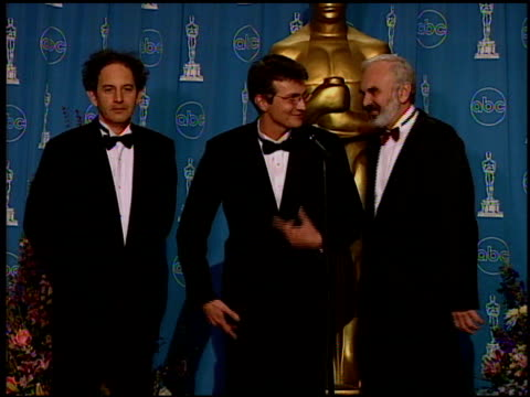 jan sverak at the 1997 academy awards governor's ball at the shrine auditorium in los angeles, california on march 24, 1997. - 69th annual academy awards stock videos & royalty-free footage