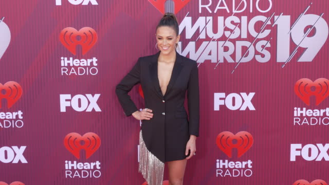 Jana Kramer at the 2019 iHeartRadio Music Awards at Microsoft Theater on March 14 2019 in Los Angeles California