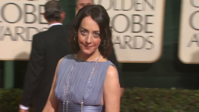 jane adams at the 67th annual golden globe awards arrivals part 3 at beverly hills ca - ゴールデングローブ賞点の映像素材/bロール