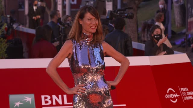 """jane alexander attends the red carpet of the movie """"druk"""" during the 15th rome film festival on october 20, 2020 in rome, italy. - film moving image stock videos & royalty-free footage"""