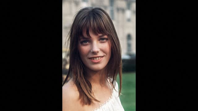 """jane birkin suffered a minor stroke. the singer and actress is """"doing well"""" but has cancelled her appearance at the deauville american film festival - report produced segment stock videos & royalty-free footage"""