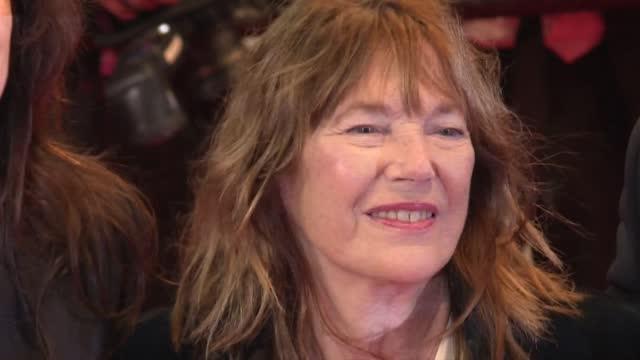 jane birkin suffered a minor stroke - report produced segment stock videos & royalty-free footage