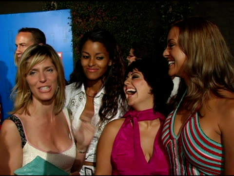 jane buckingham claudia jordan jess zaino and eva la rue on what brings them out tonight what it's like working on 'the modern girls guide' what they... - eva larue stock videos and b-roll footage