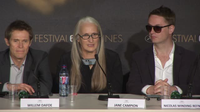 jane campion on sexism within the film industry at jury press conference on may 14 2014 in cannes france - 2014 stock videos and b-roll footage
