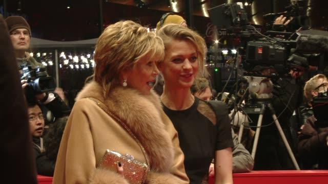 Jane Fonda and Heike Makatsch at 'The Grandmaster' Premiere 63rd Berlinale International Film Festival Jane Fonda and Heike Makatsch at 'The...